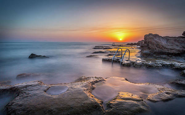 Photograph - The Steps At Sunrise. by Gary Gillette
