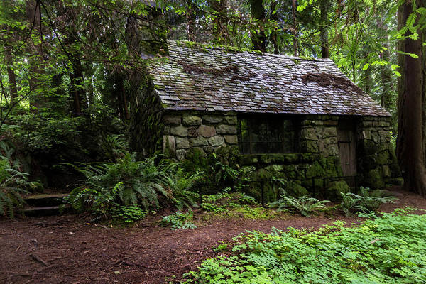 Photograph - The Stone Cottage by Hans Franchesco