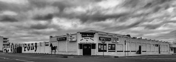 Photograph - The Stone Pony Asbury Park New Jersey Black And White by Terry DeLuco
