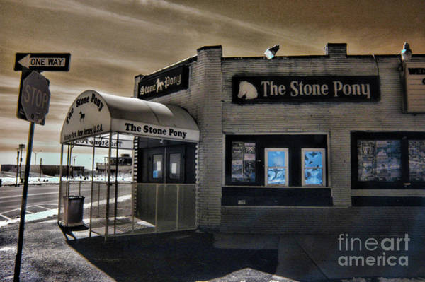 Wall Art - Photograph - The Stone Pony In Infared by Paul Ward