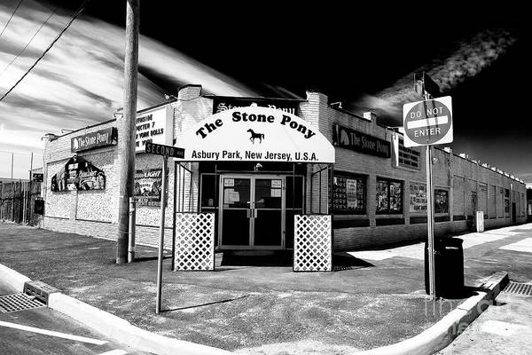 Down The Shore Photograph - The Stone Pony In Asbury Park by John Rizzuto