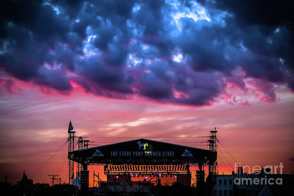 Wall Art - Photograph - The Stone Pony Summer Stage by Colleen Kammerer