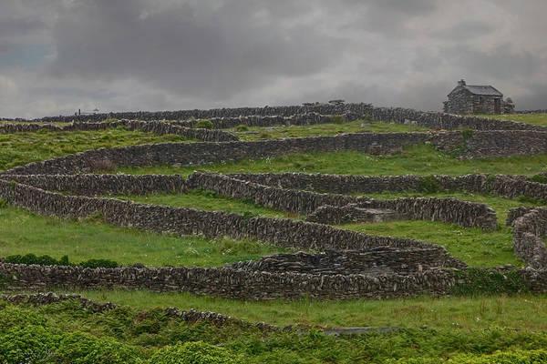 Photograph - The Stone Walls Of Innisheer by Teresa Wilson