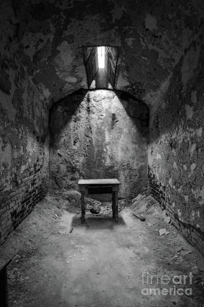 Wall Art - Photograph - The Stool Bw by Michael Ver Sprill