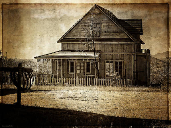 Photograph - The Stories This House Holds by Lucinda Walter