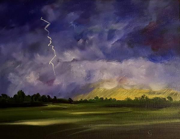 Painting - The Storm   61 by Cheryl Nancy Ann Gordon