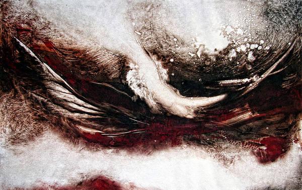 Wall Art - Painting - The Storm by Leyla Munteanu