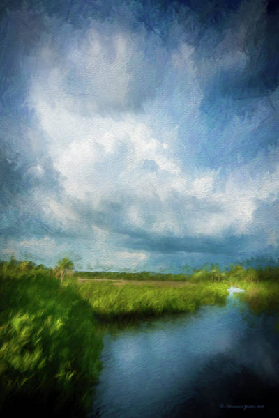 Marshland Photograph - The Storm by Marvin Spates
