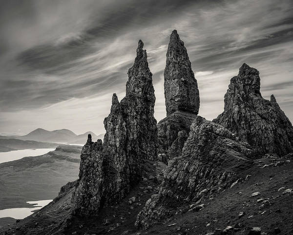 Isle Of Skye Photograph - The Old Man by Dave Bowman