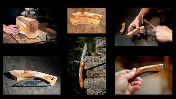 Photograph - The Story Of A Knife Handle by Jean Gill