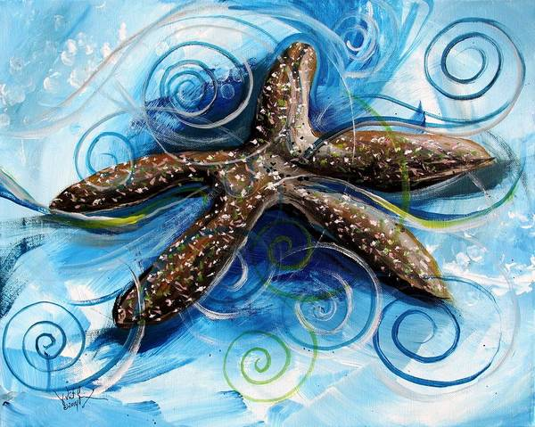 Painting - The Story Of The World's Ugliest Starfish by J Vincent Scarpace