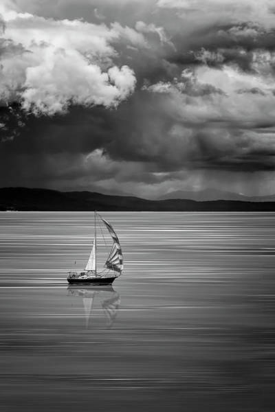 Photograph - The Strait Of Georgia by Wes Jimerson