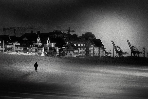 Beach City Photograph - The Stranger by Piet Flour