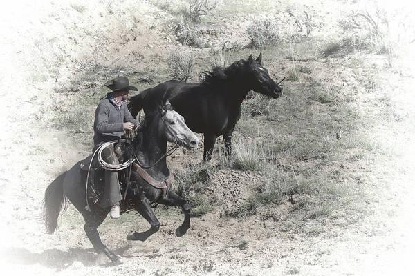 Photograph - The Wrangler by Jim Garrison