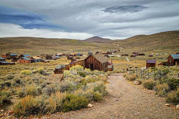 Photograph - The Streets Of Bodie by Lynn Bauer