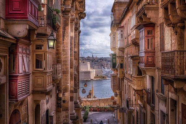 Wall Art - Photograph - The Streets Of La Valetta-malta by Adrian Malanca