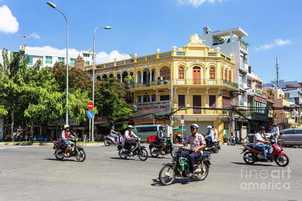 Photograph - the streets of Saigon by Didier Marti