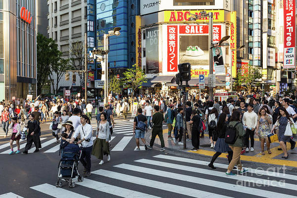 Photograph - the streets of Shinjuku by Didier Marti