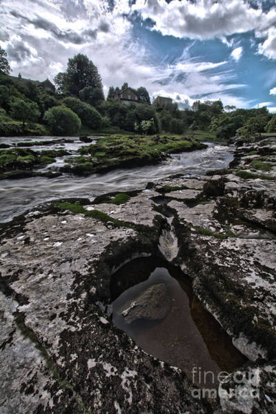 Grassington Photograph - The Strid by Charles Staincliffe
