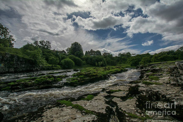 Grassington Photograph - The Strid Landscape by Charles Staincliffe