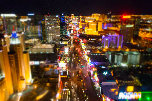 Photograph - The Strip by SR Green