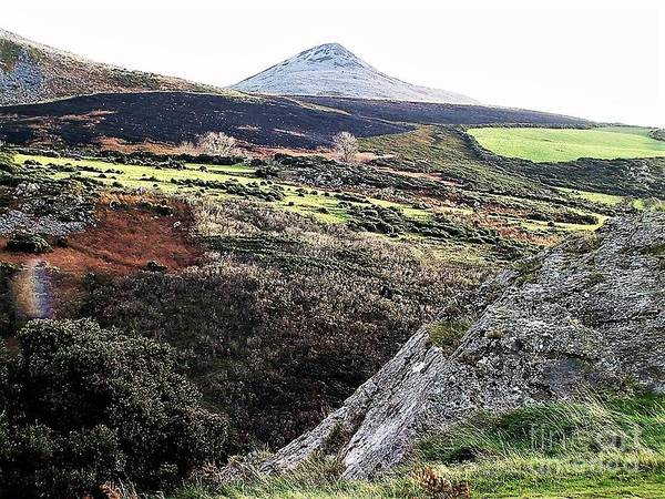 Photograph - The Sugarloaf, Bray, Wicklow by Val Byrne