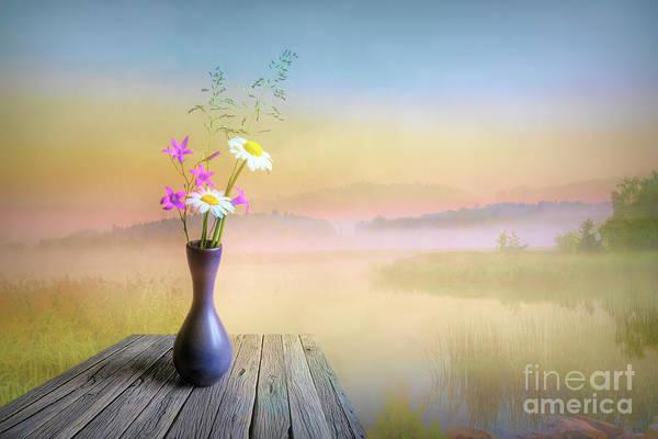 Painterly Digital Art - The Summer Still Life by Veikko Suikkanen