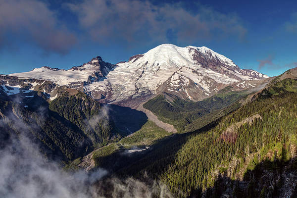 Photograph - The Summit Of Mount Rainier by Pierre Leclerc Photography