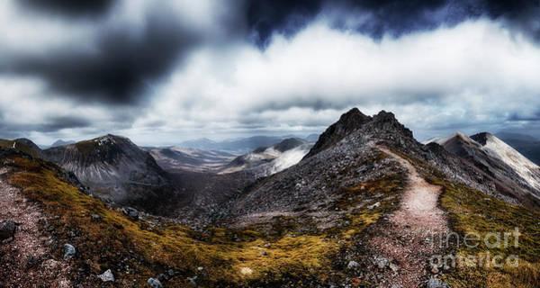 Beinn Eighe Photograph - The Summit Of Spidean Coire Nan Clach by Phill Thornton