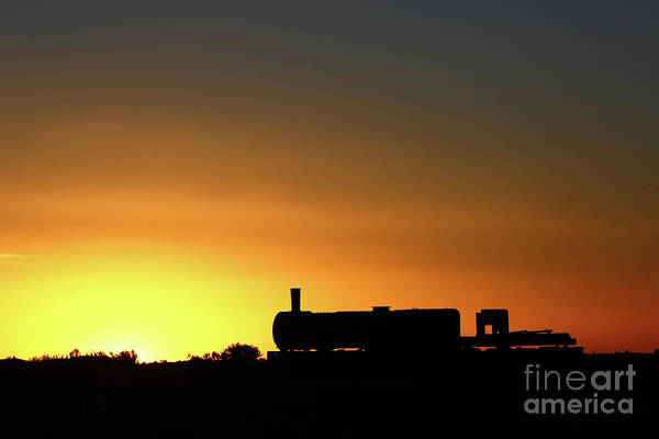 Photograph - The Sun Sets On A Bygone Age by James Brunker