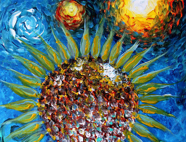 Painting - The Sun, The Moon, And You by J Vincent Scarpace