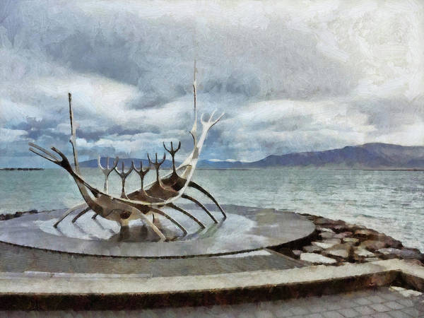 Digital Art - The Sun Voyager by Digital Photographic Arts