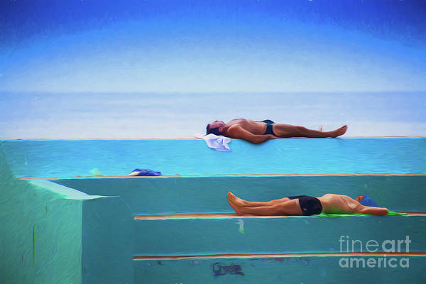 Wall Art - Photograph - The Sunbathers by Sheila Smart Fine Art Photography