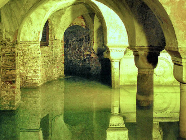 Wall Art - Photograph - The Sunken Crypt Of San Zaccaria by Dominic Piperata