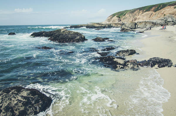Photograph - The Sunny Shoreline No.2 by Margaret Pitcher