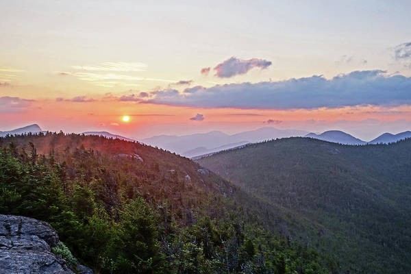 Photograph - The Sunrise From Phelps Mountain Summit In The Adirondacks by Toby McGuire