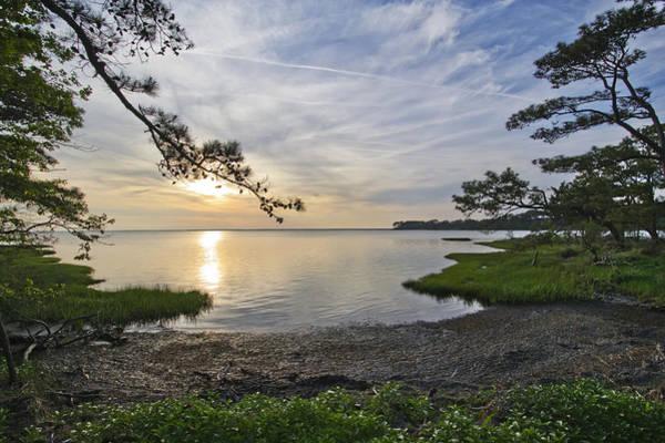 Assateague Island Photograph - The Suns Retreat - Assateague Island - Maryland by Brendan Reals