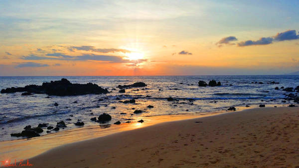 Ocean Wall Art - Photograph - The Sunset Of Maui by Michael Rucker
