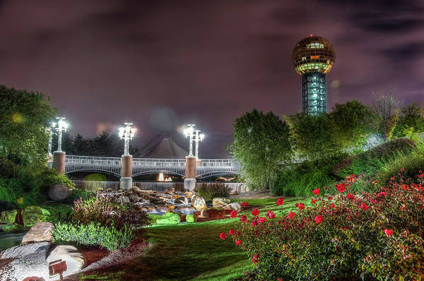 Photograph - The Sunsphere by Daryl Clark