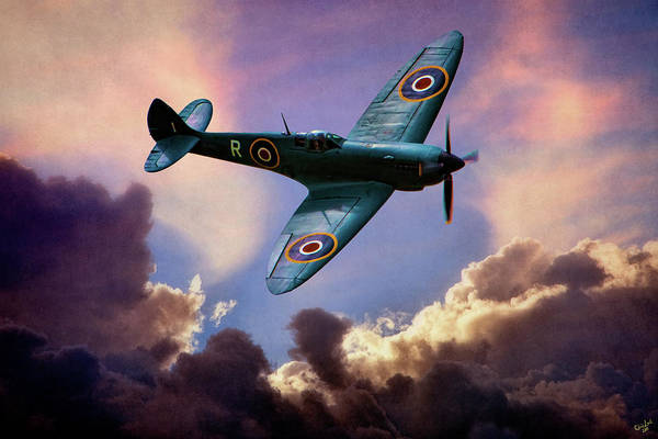 Photograph - The Supermarine Spitfire by Chris Lord