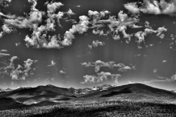 Photograph - The Sureal Selkirk Mountain Range by David Patterson