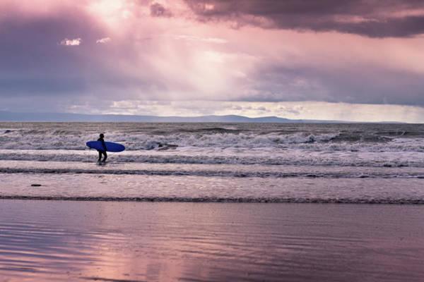 Wall Art - Photograph - The Surfer by Justin Albrecht