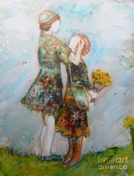 Painting - The Surprise by Deborah Nell