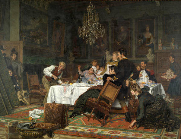 Unexpected Painting - The Surprise Of The Master's Unexpected Arrival by Evert Jan Boks