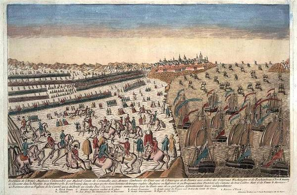 1781 Painting - The Surrender Of British Troop by MotionAge Designs
