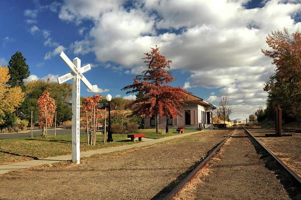 Photograph - The Susanville Train Depot by James Eddy