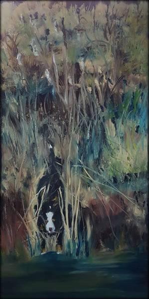 Painting - The Swamp    4.4.2017 #16 by Cheryl Nancy Ann Gordon