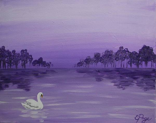 Painting - The Swan by Emily Page