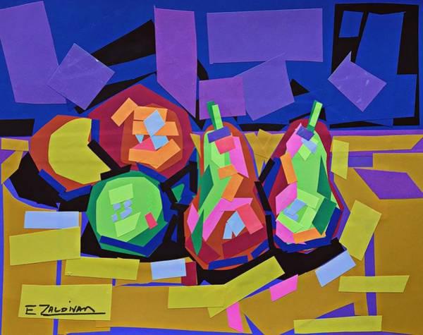 The Sweet Fruits Of Art Art Print