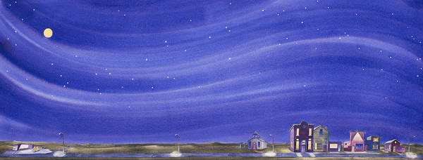 Painting - The Sweetest Little Town In The Prairie IIi by Scott Kirby